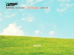 雨木林风 Win10 x64(1803专业版)v2019.04